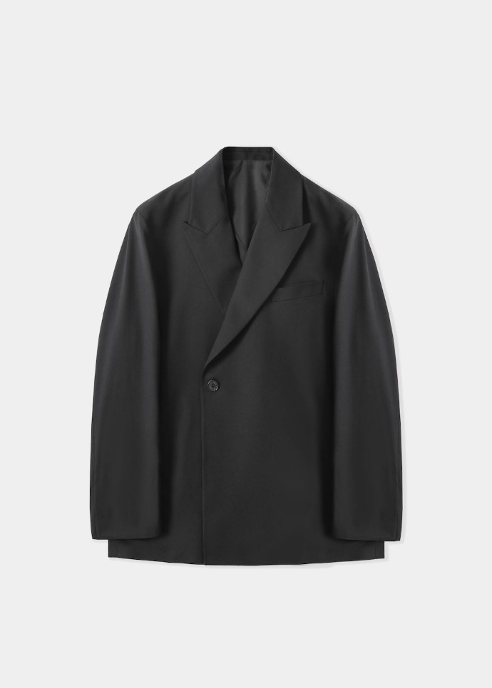 MIM THE WARDROBE밈더워드로브 OXTER Wool Double Jacket (Set-up)