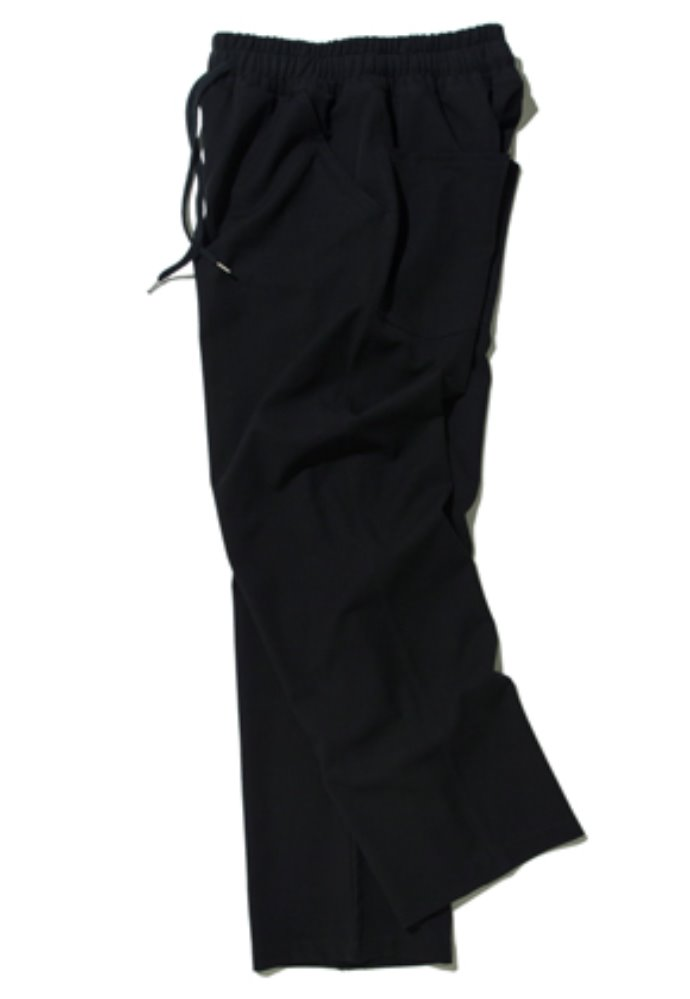 Kruchi크루치 Easy Banding Slacks - (black)