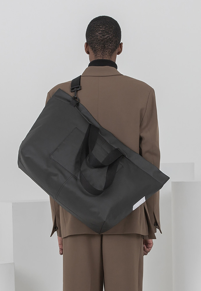 Ordinauty오디너티 INSIDE-OUT BLACK, (Tote x shoulder x cross)