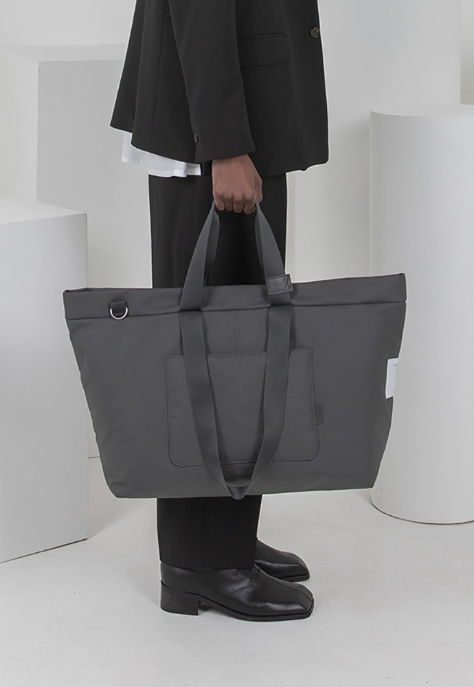 Ordinauty오디너티 INSIDE-OUT GRAY, (Tote x shoulder x cross)