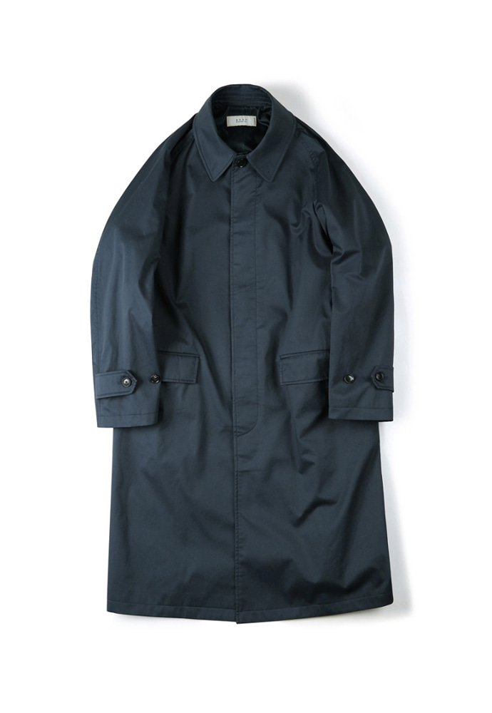 Shirter셔터 WATERPROOF COATING BALMACAAN COAT NAVY