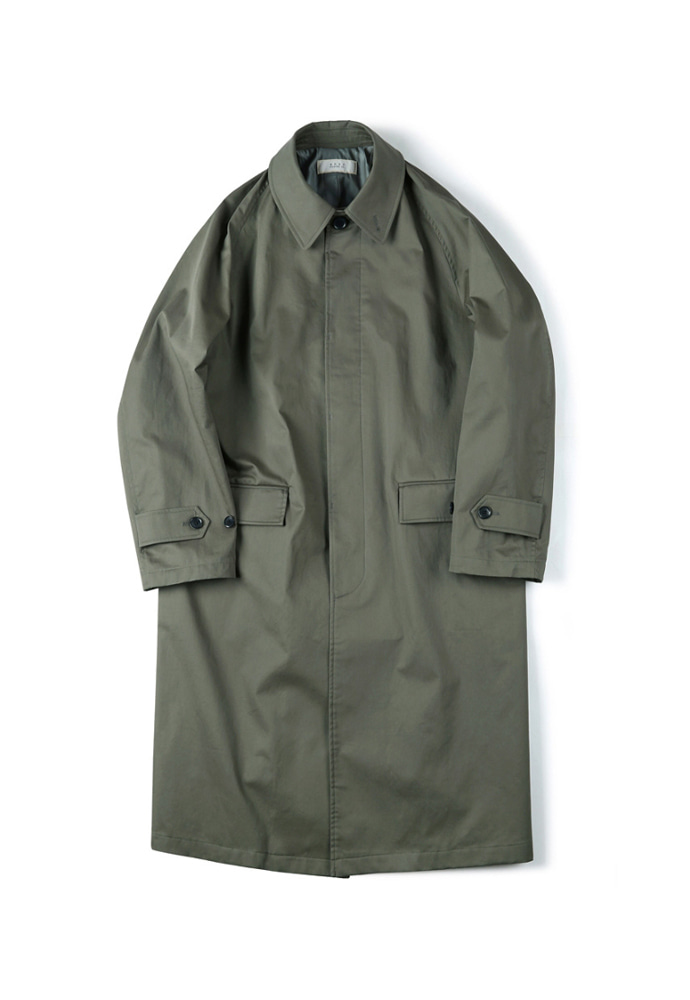Shirter셔터 WATERPROOF COATING BALMACAAN COAT OLIVE