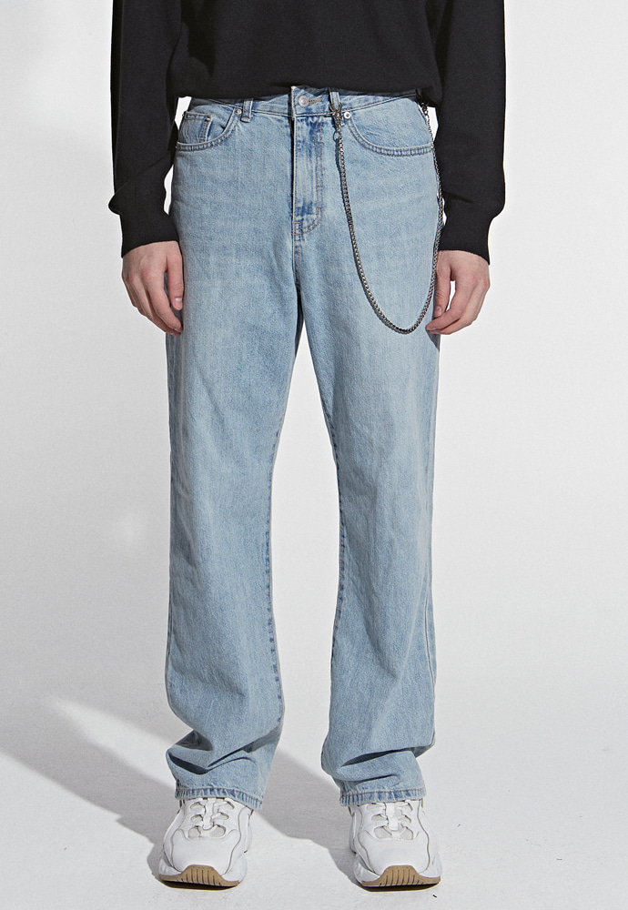 L'OEIL로에일 TRENDY WIDE DENIM PANTS