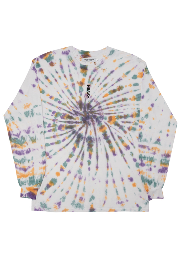 HEAVY Culture헤비컬쳐 Tiedye Long Sleeve (Multi)
