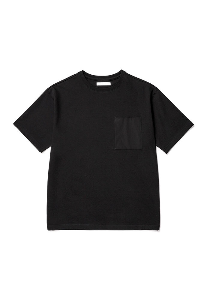 ENOU에노우 POCKET TSHIRT[BLACK]