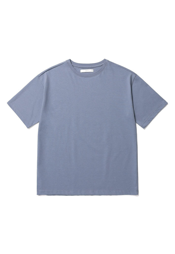 ENOU에노우 RELAXED TSHIRT[GREYISH BLUE]