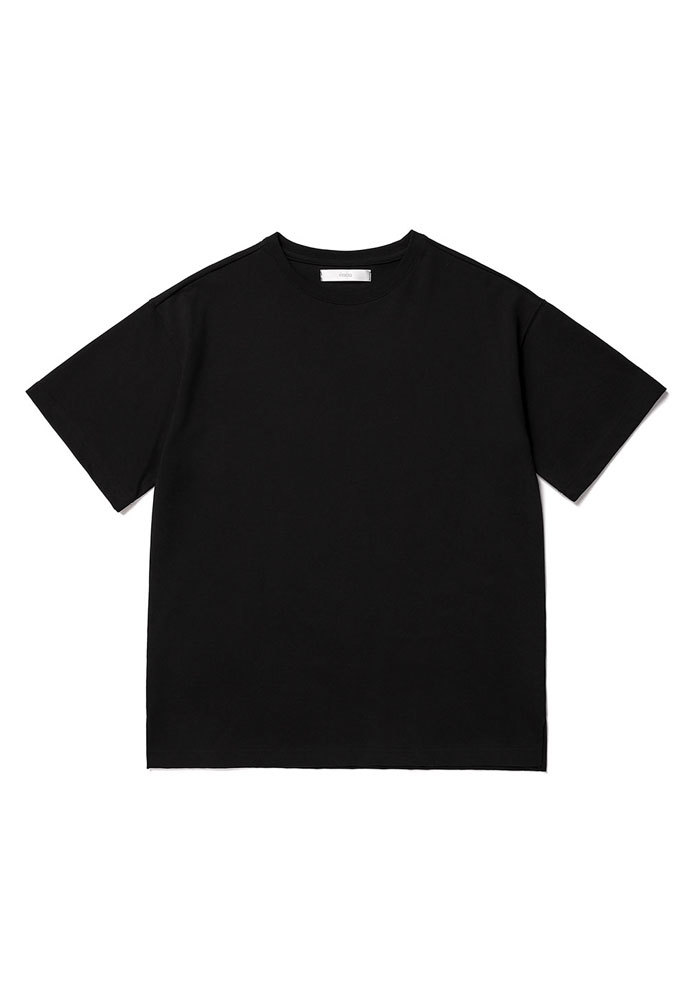 ENOU에노우 OVERSIZED TSHIRT[BLACK]
