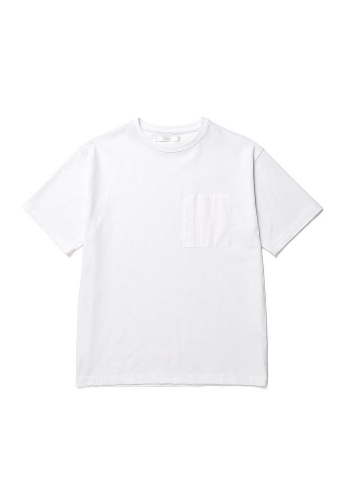 ENOU에노우 POCKET TSHIRT[WHITE]