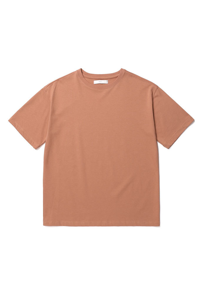 ENOU에노우 RELAXED TSHIRT[DUSTY CORAL]