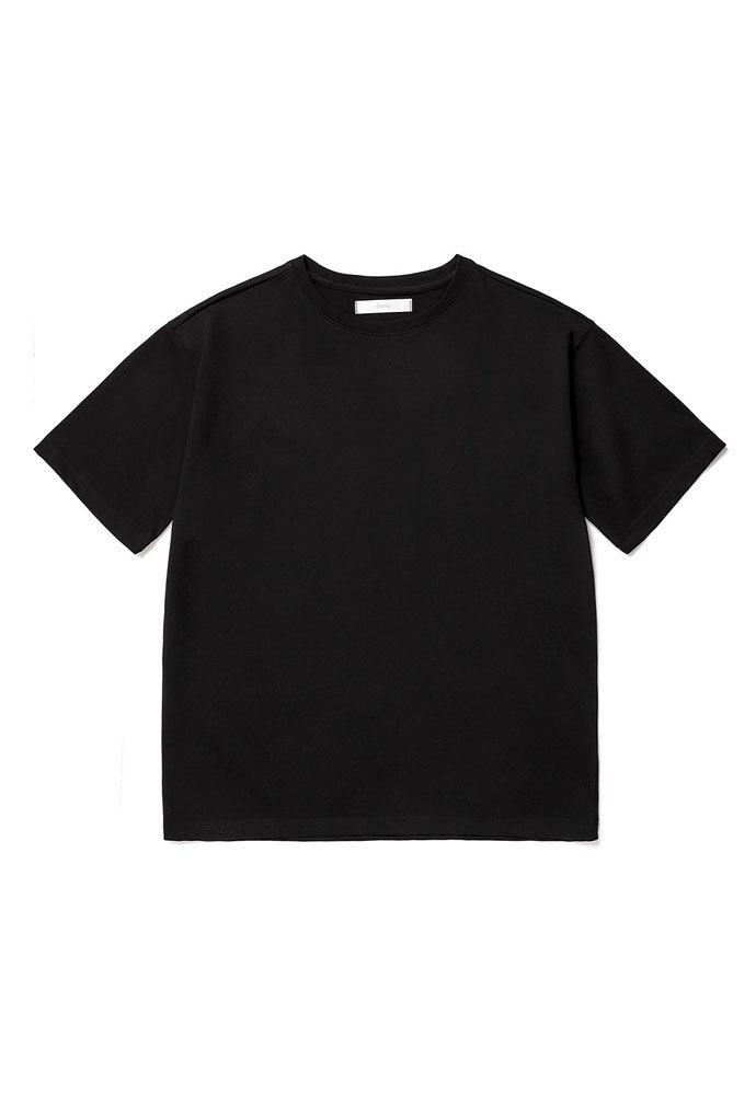 ENOU에노우 RELAXED TSHIRT[BLACK]