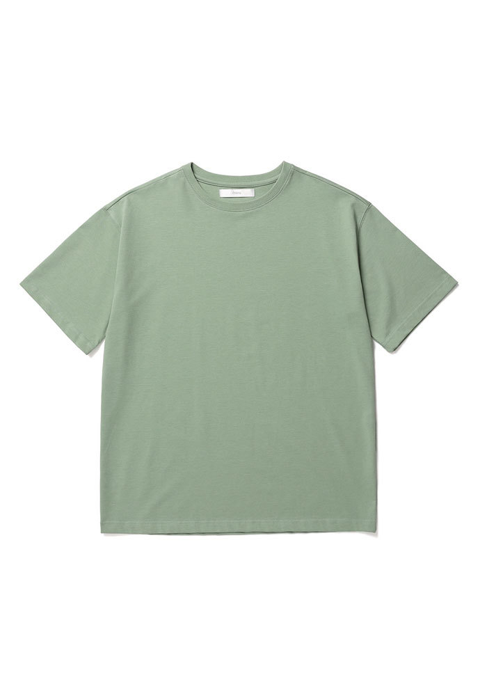 ENOU에노우 RELAXED TSHIRT[PALE GREEN]