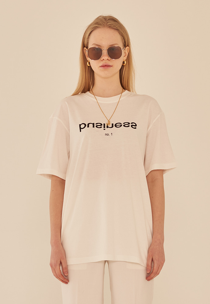 13Month써틴먼스 BUSINESS T-SHIRT (WHITE)