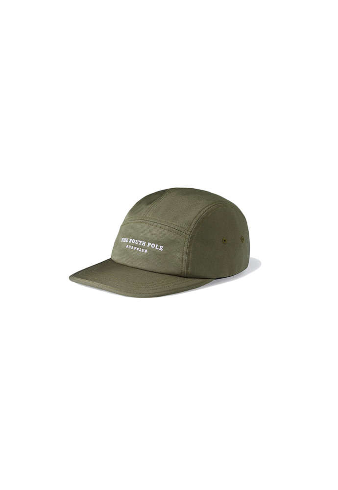 Ramolin라모랭 TSP Surf Club Camp Cap Dark Olive