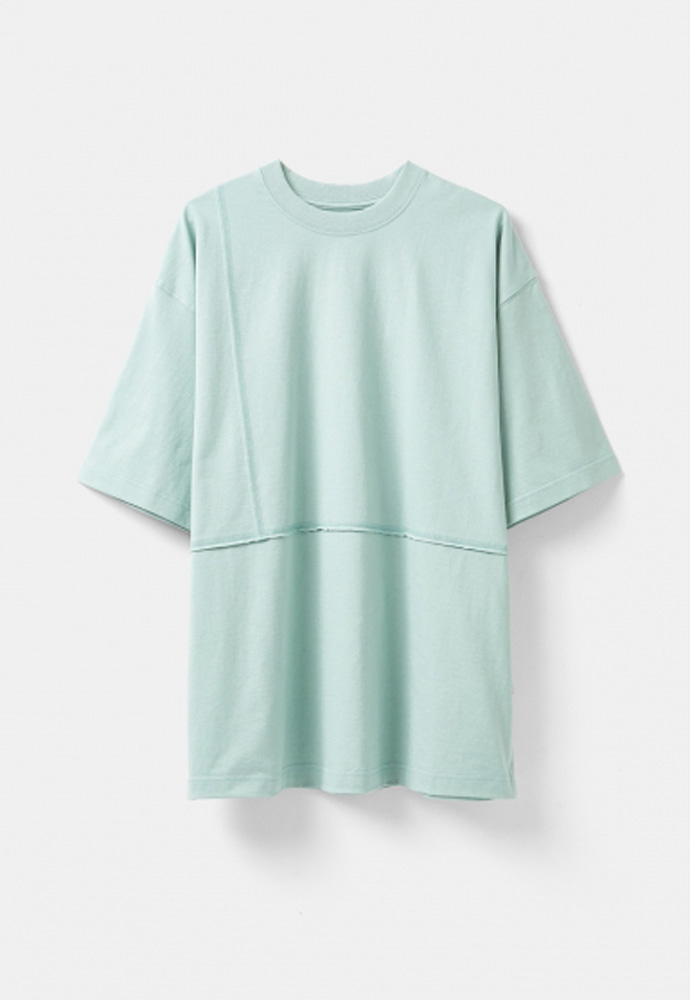 YOUTH유스랩 Cut-off T-shirt Mint