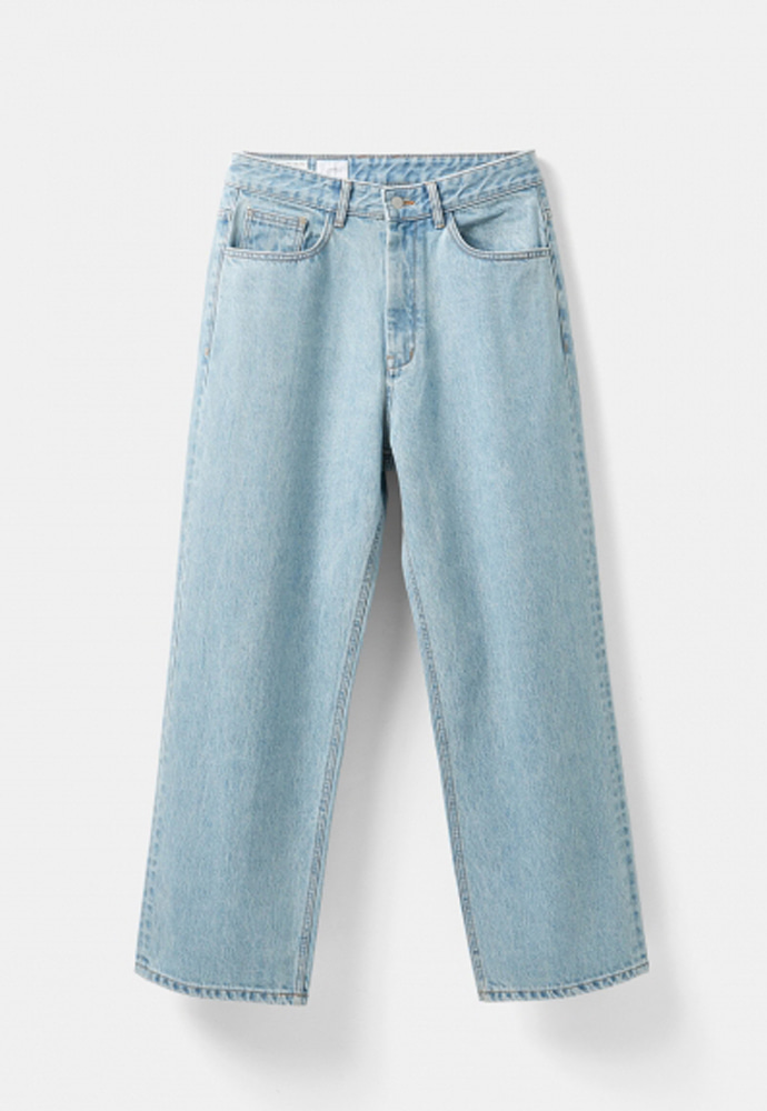 YOUTH유스랩 (당일발송) Wide Denim Pants Light Blue