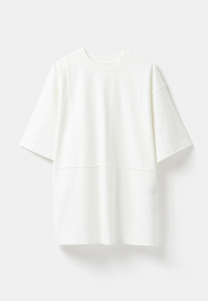 YOUTH유스랩 Cut-off T-shirt White