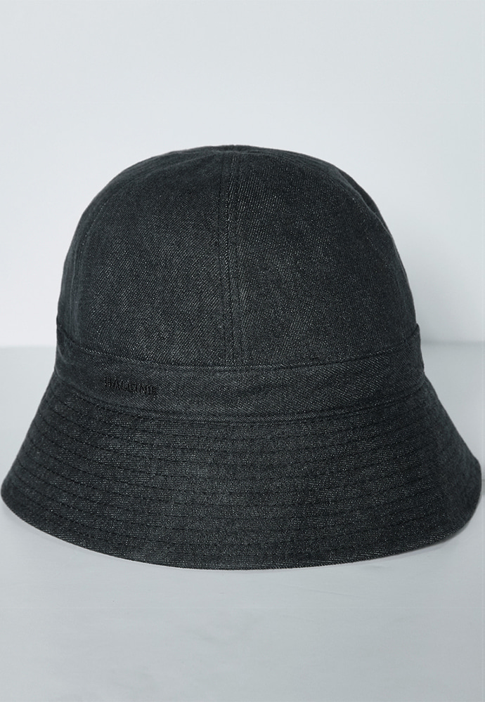 Haleine알렌느 INDIGO denim bucket hat(LA022)