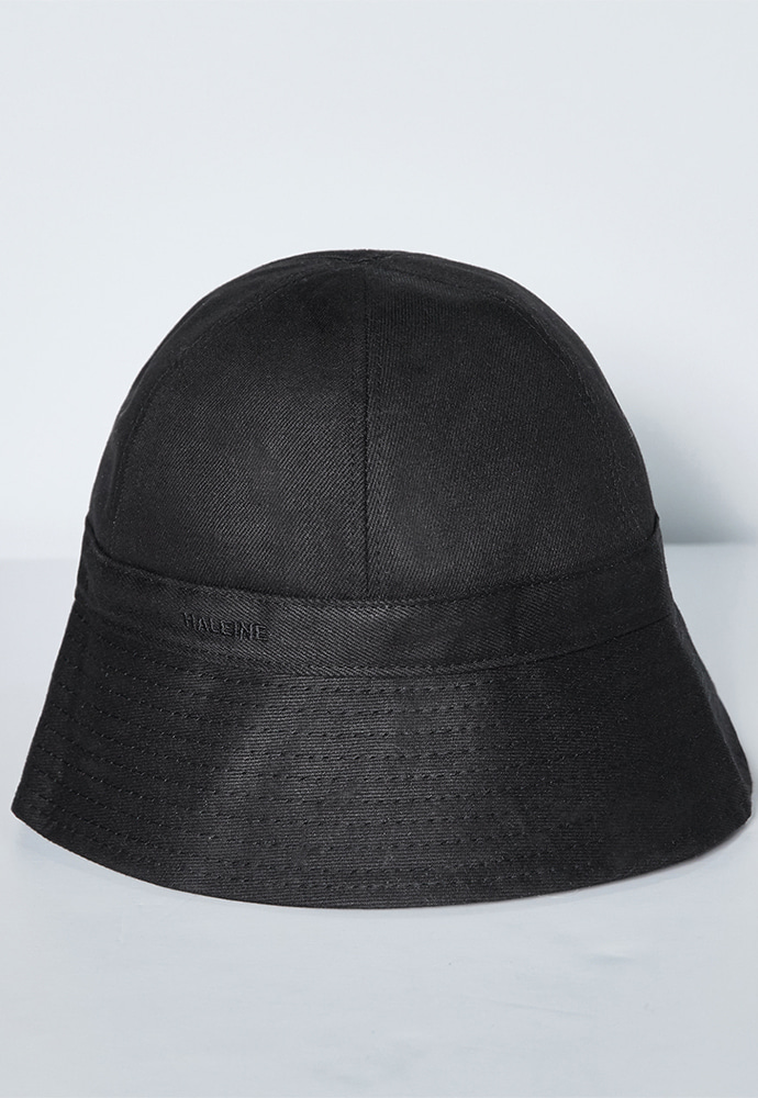 Haleine알렌느 BLACK denim bucket hat(LA023)