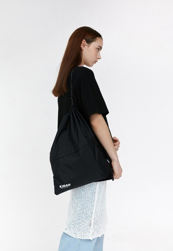 KIRSH키르시 [당일발송] STRING GYM BAG JH [BLACK]