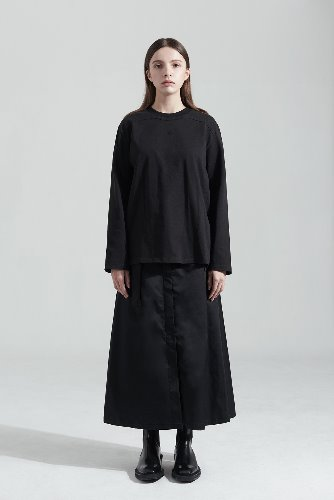 Bienkimiiye비안키미이예 Exterior Binding Long Sleeve (BLACK)