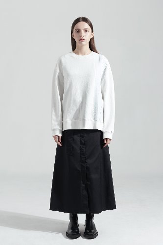 Bienkimiiye비안키미이예 Over side mtm (WHITE)