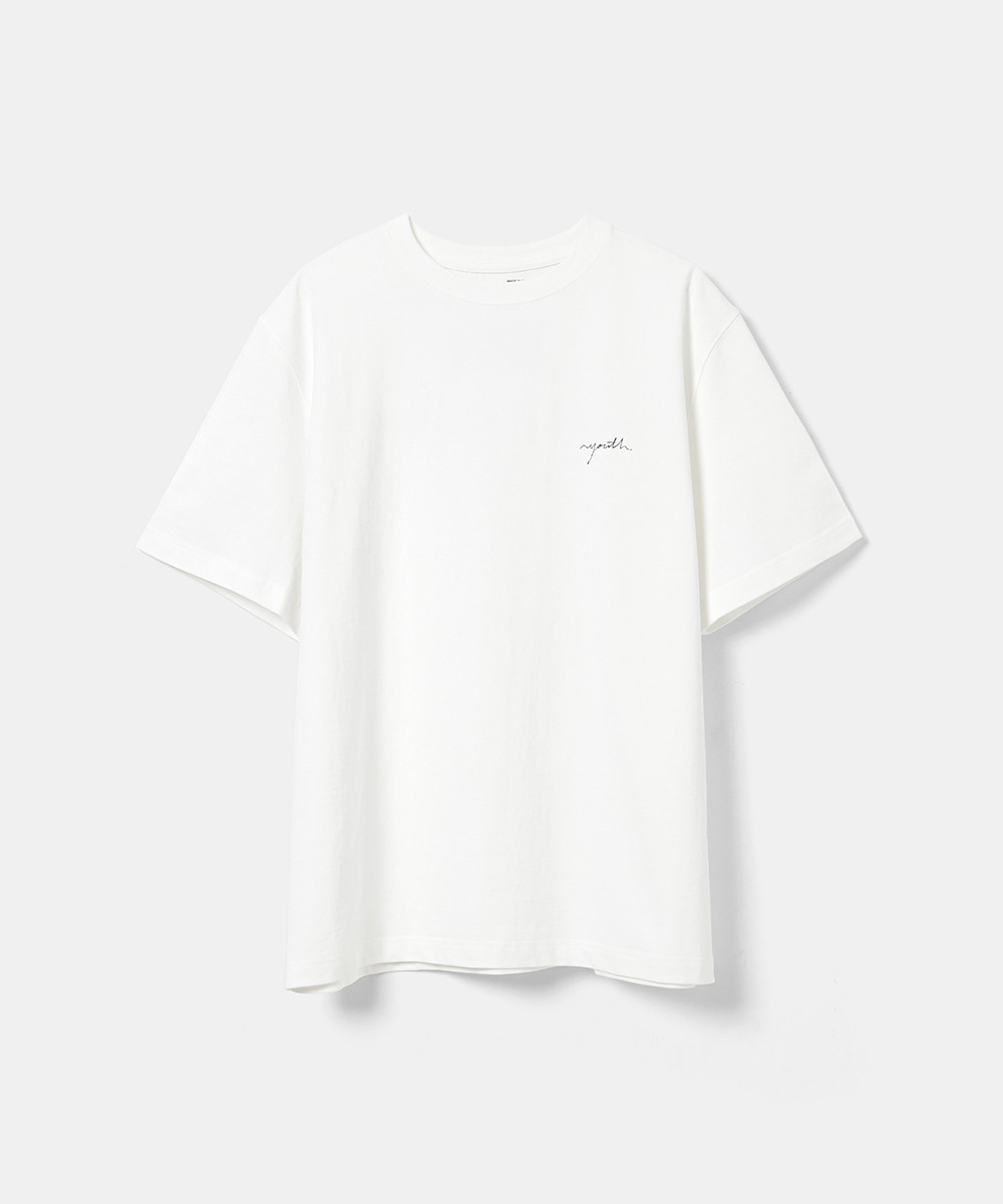 YOUTH유스랩 Logo T-shirt White