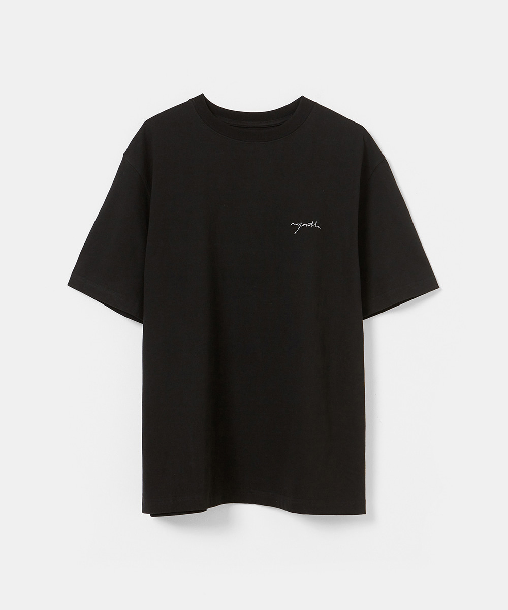 YOUTH유스랩 Logo T-shirt Black