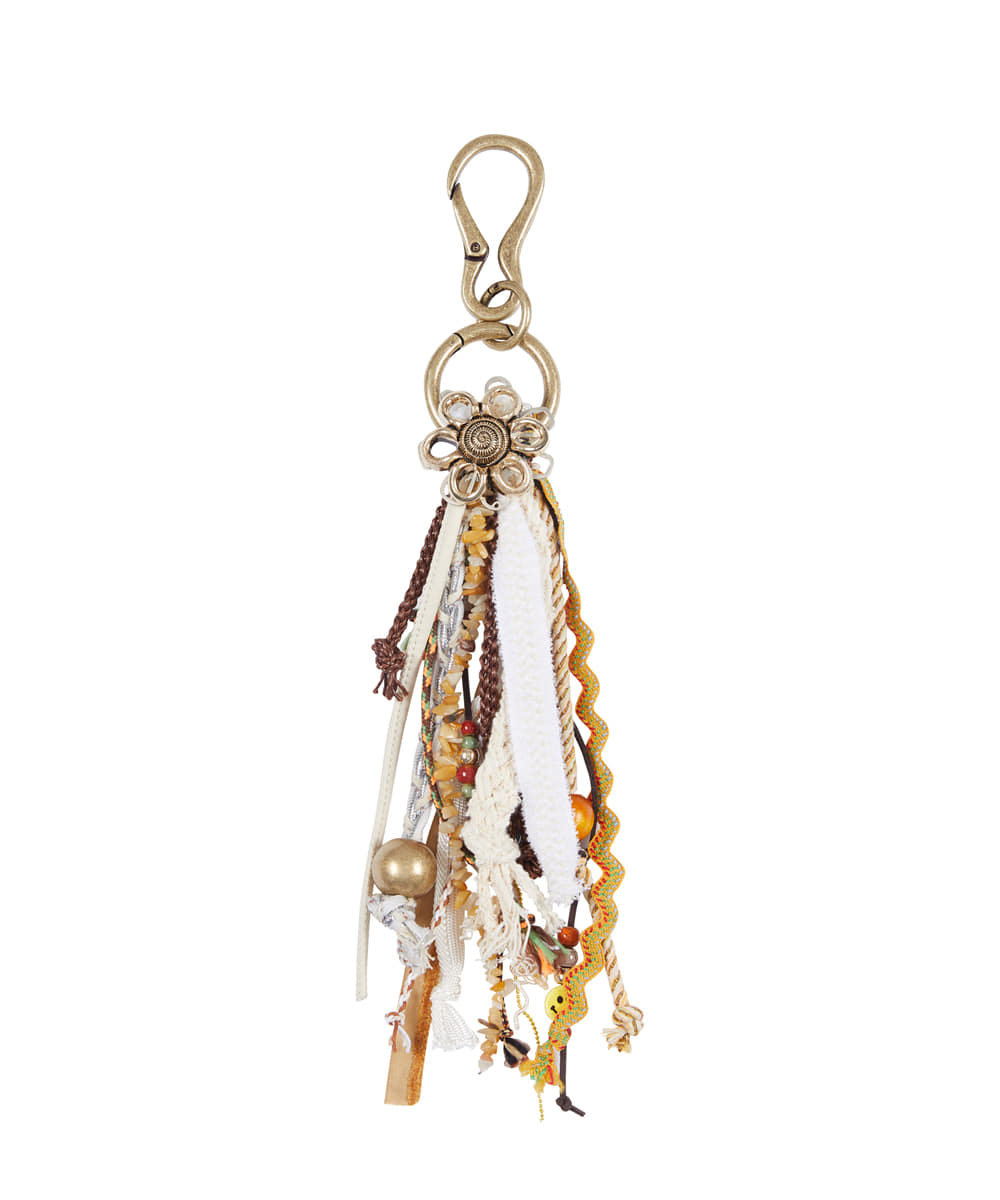 Anderssonbell앤더슨벨 EOLITHIC CHARM KEY CHAIN aaa251m(BEIGE)