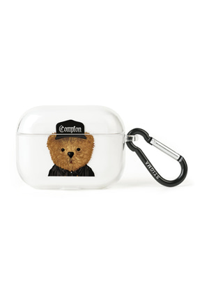 Stigma스티그마 AirPods Pro CASE COMPTON BEAR CLEAR