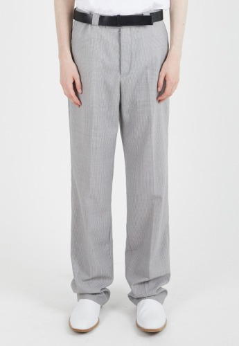 ADDOFF애드오프 Onyx Relaxed Trousers - Beige Gray