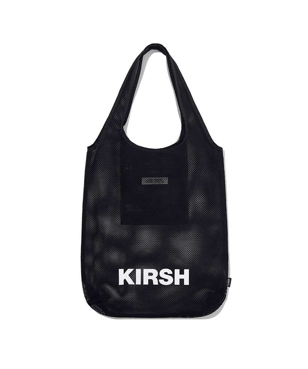 KIRSH키르시 KIRSH POCKET BEACH MESH BAG JH [BLACK]