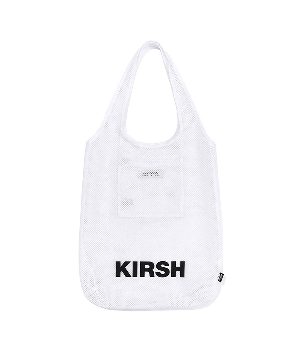 KIRSH키르시 KIRSH POCKET BEACH MESH BAG JH [WHITE]