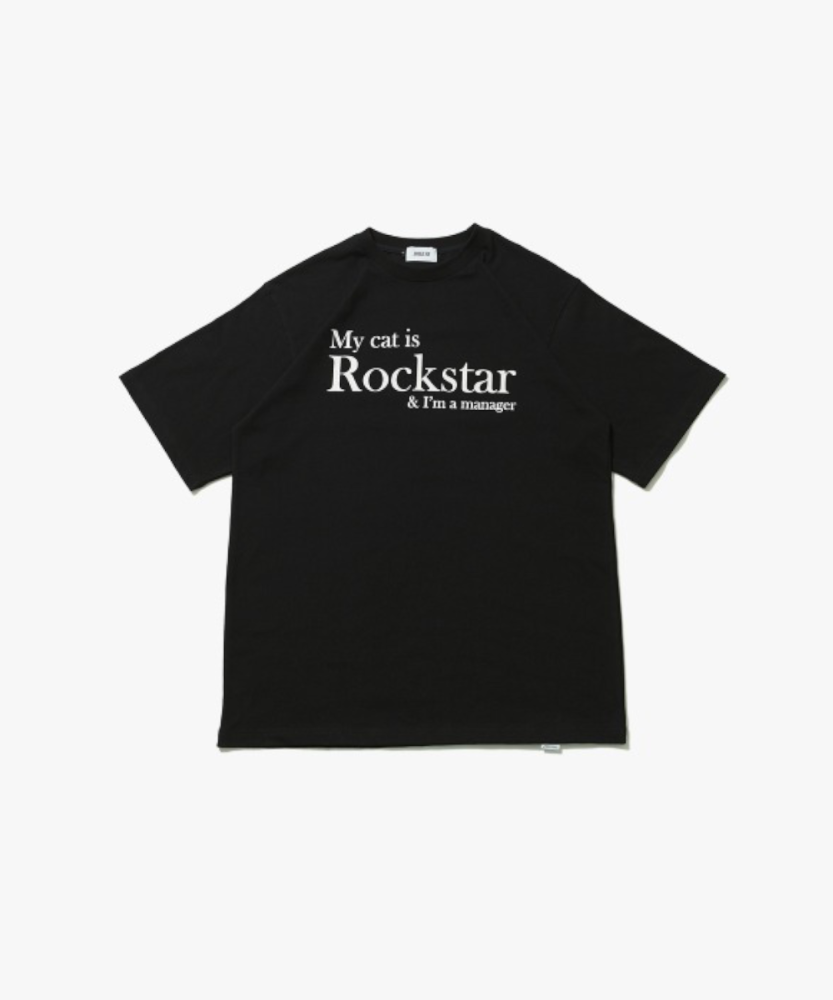 JOEGUSH조거쉬 My cat is Rockstar & I'm a manager - BLACK