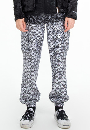 The Greatest더 그레이티스트 Pattern Jogger Pants