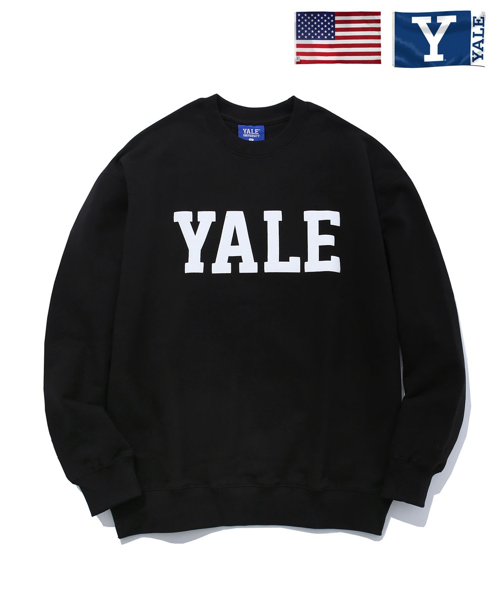 YALE예일 IVY LEAGUE CREWNECK BLACK