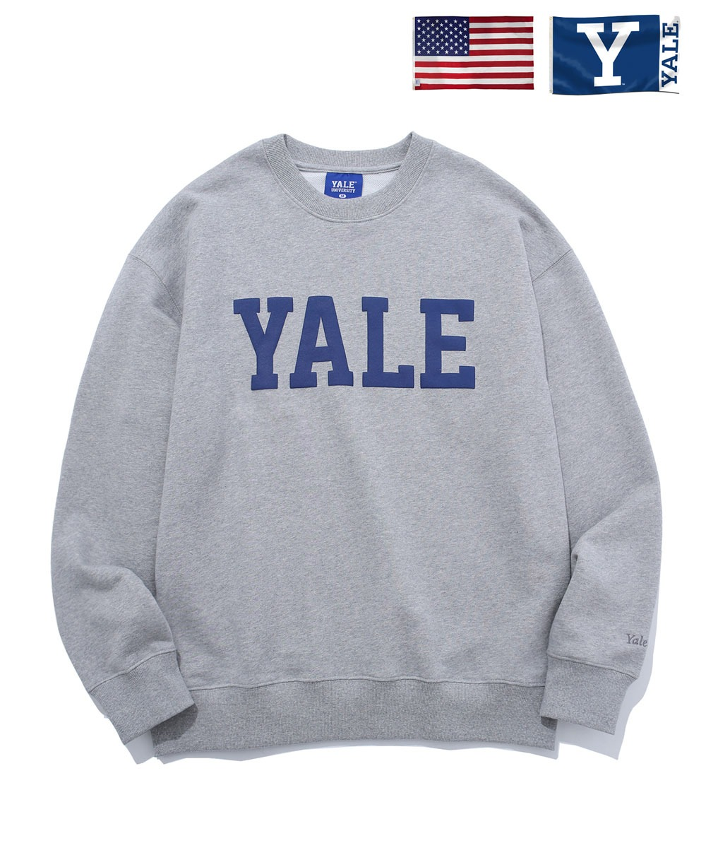YALE예일 IVY LEAGUE CREWNECK GRAY