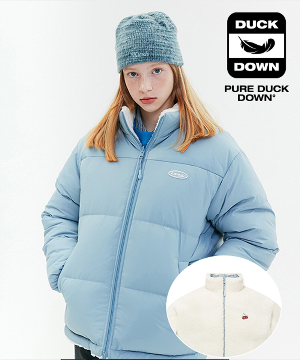 KIRSH키르시 REVERSIBLE FLEECE NUPTSE PADDING JA [LIGHT BLUE]