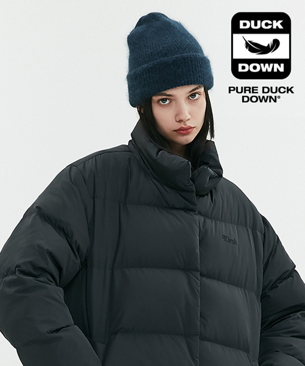 KIRSH키르시 OVERSIZED DOWN PADDING JA [BLACK]