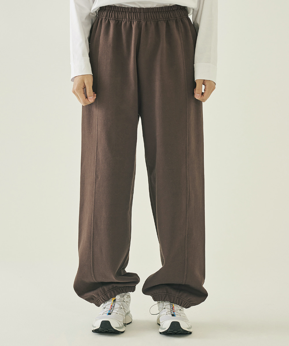 llud러드 LLUD Lounge sweat pants Brown