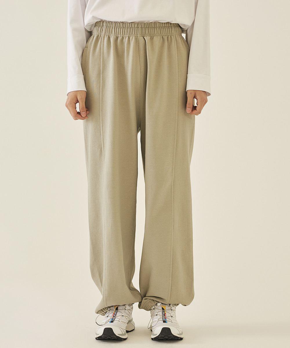 llud러드 LLUD Lounge sweat pants Sage Beige