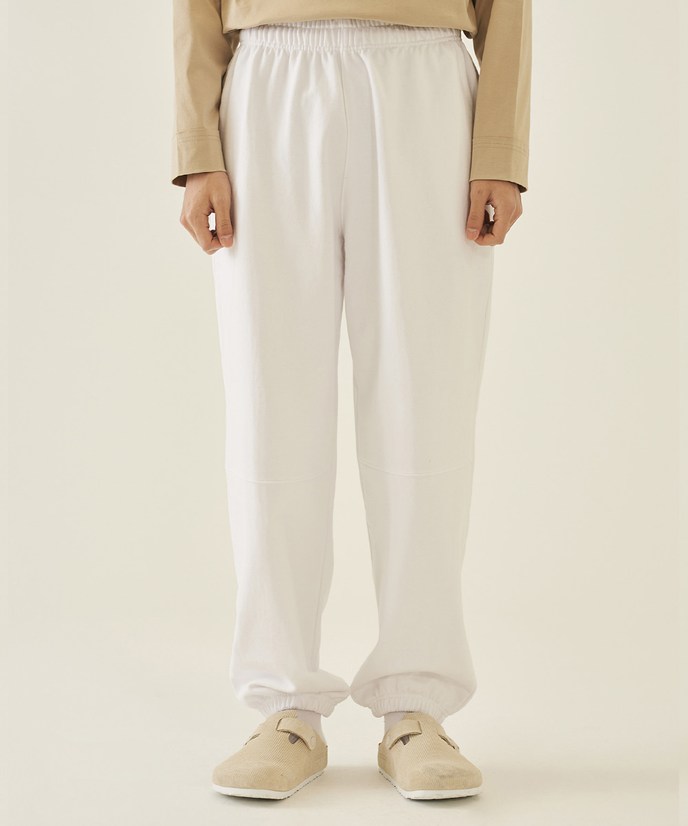 llud러드 LLUD sweat pants White