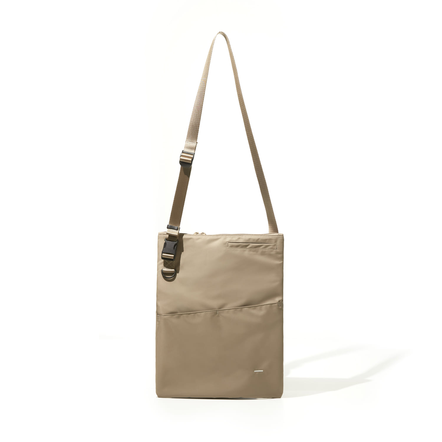 WORTHWHILE MOVEMENT월스와일 무브먼트 FOLDABLE FLAT BAG (BEIGE)