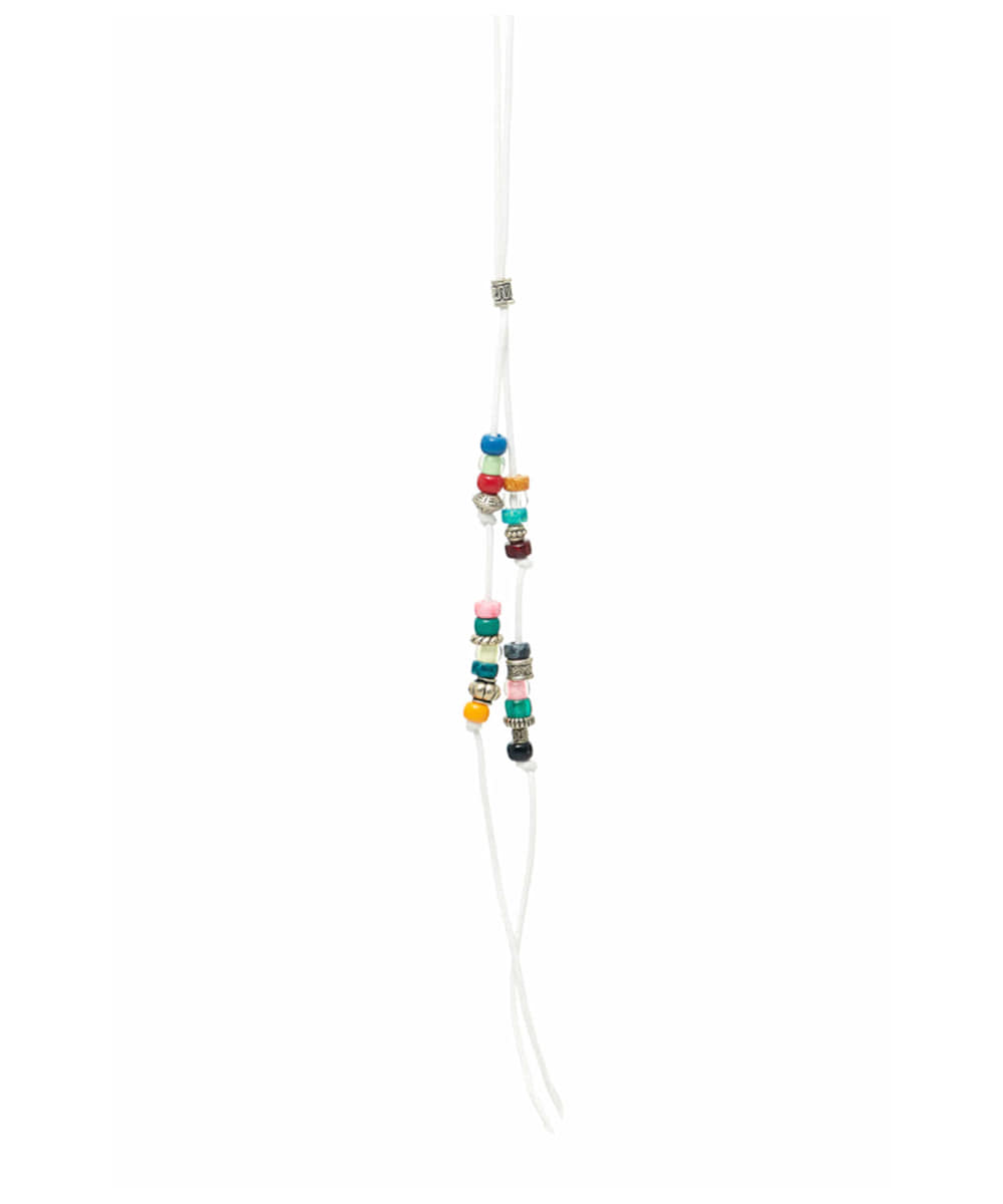 JOEGUSH조거쉬 Beads Necklace (White)
