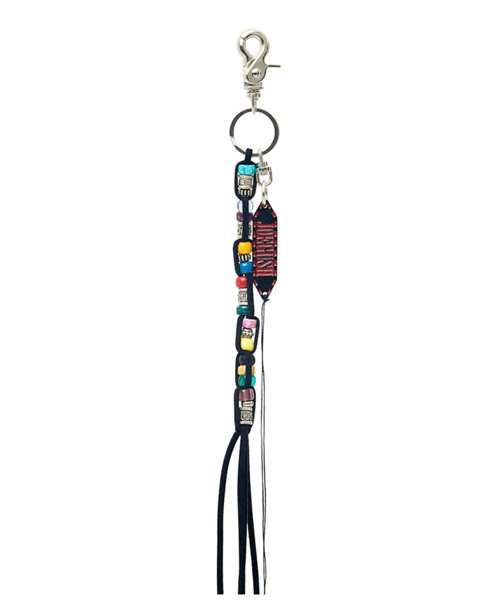 JOEGUSH조거쉬 Beads Jellyfish Key-ring (Black)