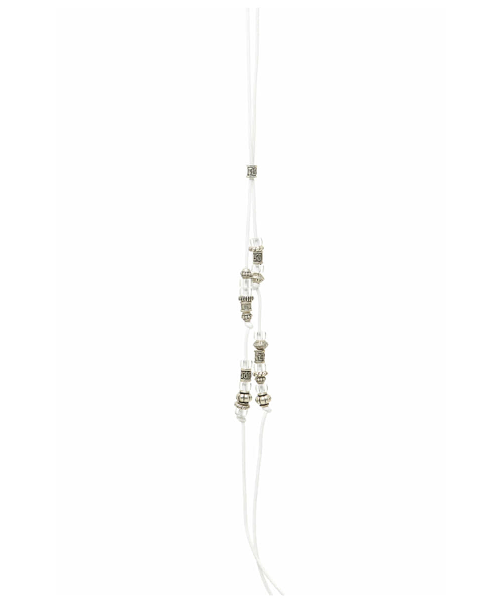 JOEGUSH조거쉬 Beads Necklace (New White)