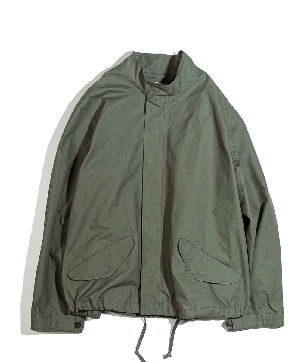 OURSELVES아워셀브스 M-65 FISHTAIL SHORT PARKA (olive drab)