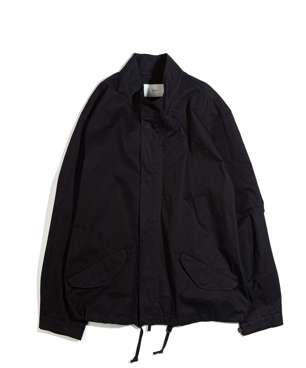 OURSELVES아워셀브스 M-65 FISHTAIL SHORT PARKA (black)
