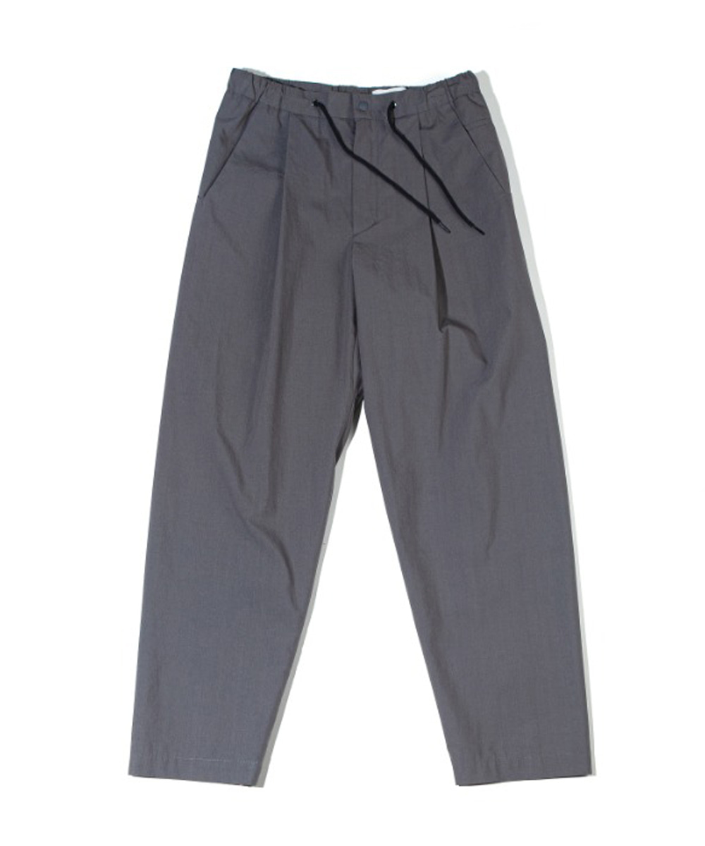 OURSELVES아워셀브스 HIGH DENSITY TYPEWRITER SLUMBER PANTS (charcoal)