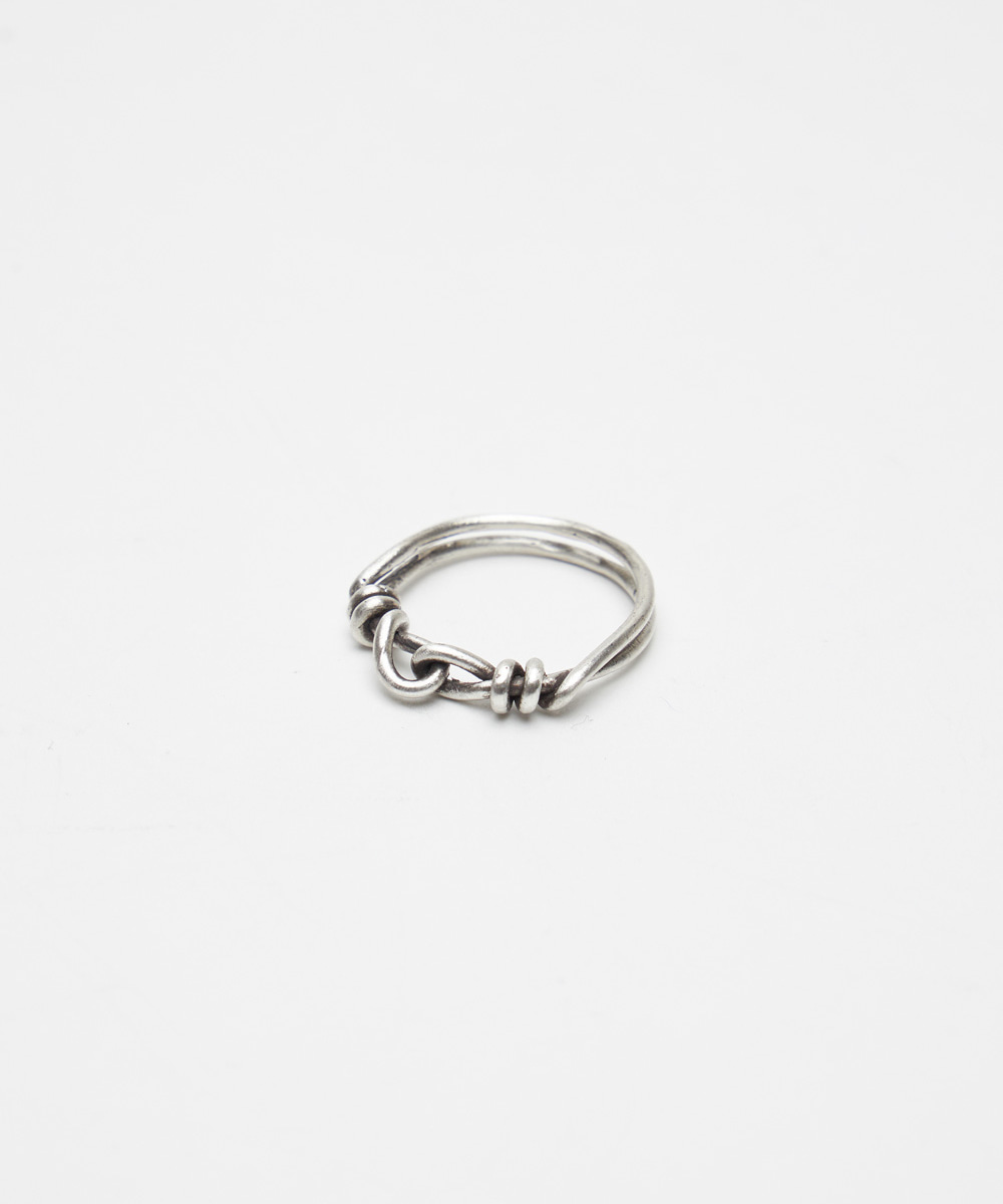 YOUTH유스랩 Twist Connected Ring Silver